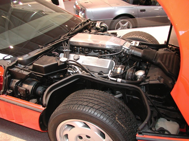 On April Of 1989 Scott Leon Begins Moving The 454 Ci Engine From Original 1986 Dog Test Corvette To A Convertible With Six Sd Manual